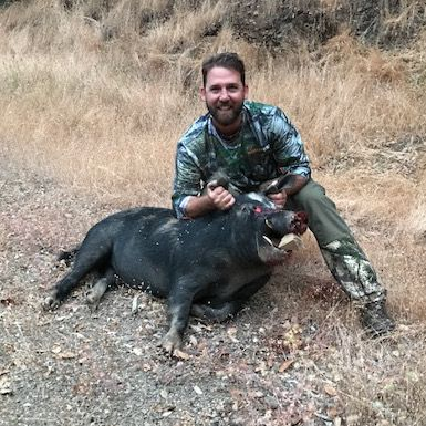 Christopher Arns archery hog